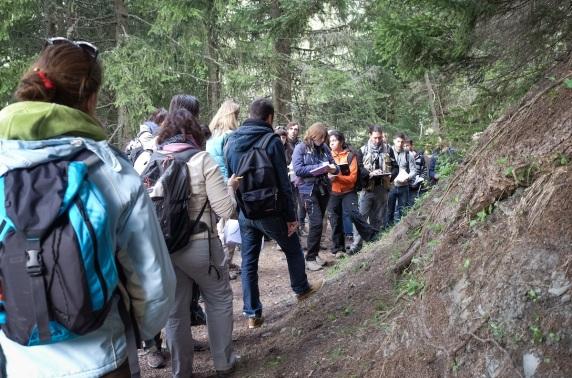 LSSTE Dijon_Ecole de terrain 2014 Jura-Mont-Blanc