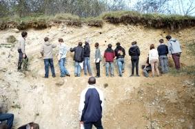 proglacial deltaic deposits (quaternaire Jura)