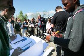 L3STE : école de terrain avril 2015
